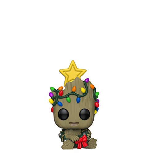 Funko Pop! Bobble Vinyle Marvel Holiday - Groot