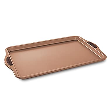 Nordic Ware 48243 Freshly Baked Cookie Sheet, 11  x 17 , Copper