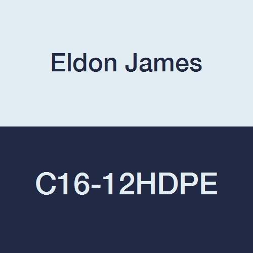 Pack of 10 Eldon James C16-12HDPE Natural High Density Polyethylene Reduction Coupler 1 Hose Barb to 3//4 Hose Barb