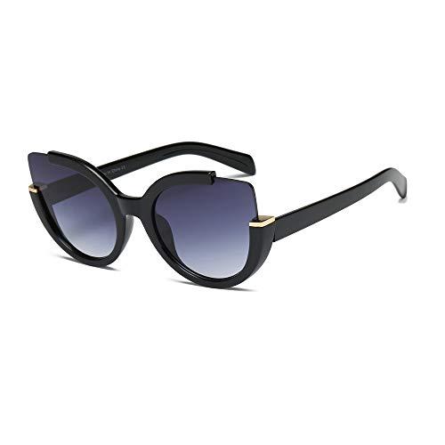 ALBRIGHT S2053 Women Round Cat Eye Sunglasses New