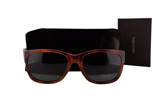 Tom Ford FT0441 Carson Sunglasses Blonde Havana w/Green Lens 53N - Ford James Bond Tom Sunglasses Men