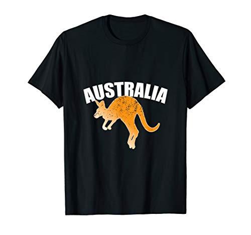 Australian Kangaroo Shirt Australia Souvenir Jumping T-Shirt -