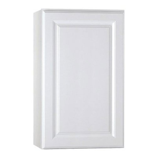 Rsi Home Products Sales CBKW1830-SW White Finish Assembled Wall Cabinet, 18