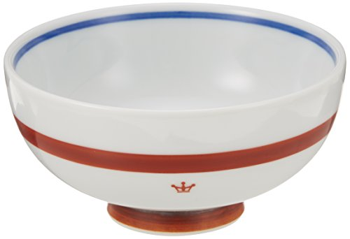 Rice bowl (large) and [] a red ceramic 40861-3699 NARUMI (Narumi) Crown Kids in the Japan-made childrens tableware] children (japan import)