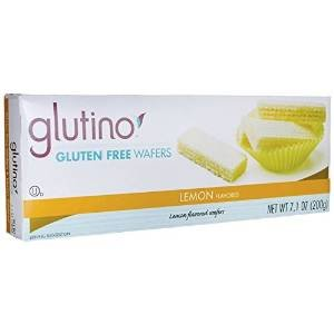 Glutino Lemon Wafers, 7.1-Ounce Boxes (Pack of 2)