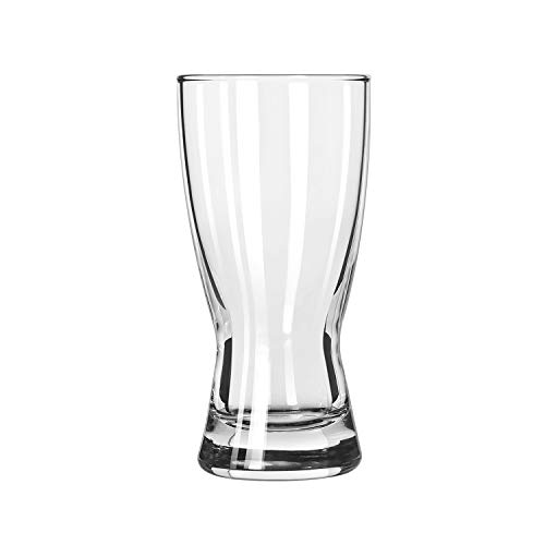 Flared Pilsner Beer Glass - Libbey Hourglass Pilsner, 10 Ounce - 24 per case