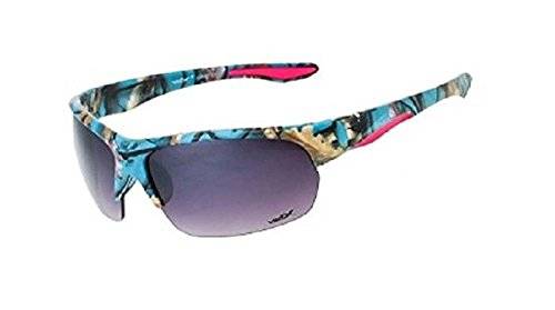 Vertex Camo Camouflage Western Ladies Sunglasses Blue - Sunglasses Jrs