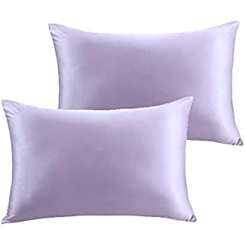Amazon Com Furlove 2 Pack Luxury 100 Satin Pillowcase