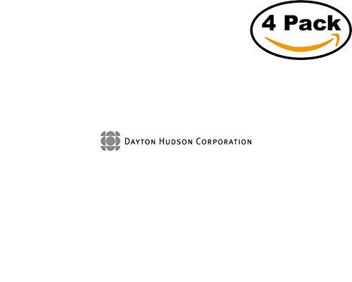 Dayton Hudson Corporation 4 Stickers 4X4 inches Car Bumper Window Sticker Decal