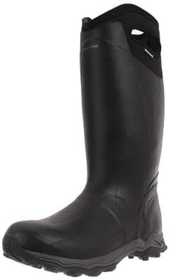 Bogs Men's Buckman Waterproof Insulated Rain Boot, Black, 8 D(M) US