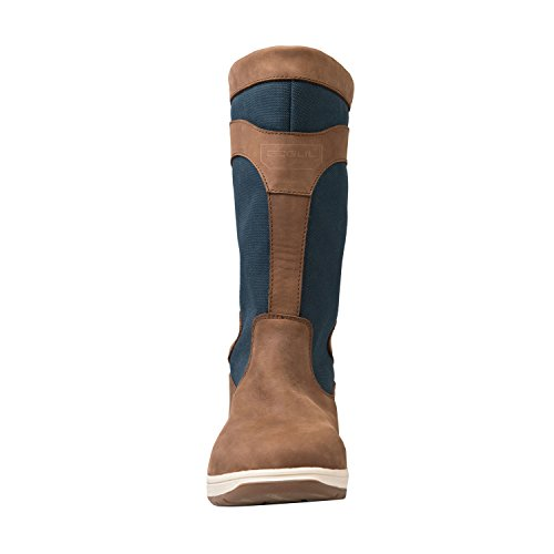 Gul Fastnet Deck Boots in Tan/Navy DS1005
