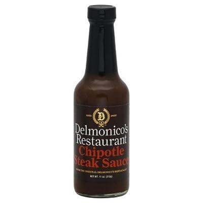 Delmonicos Chipotle Steak Sauce - 11 Oz - Pack Of 6