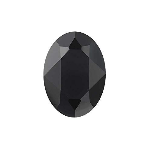 Swarovski Crystal, 4120 Oval Fancy Stone 18x13mm, 1 Piece, Jet