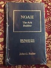 - NOAH - The Ark Builder (Bible Biography Series)