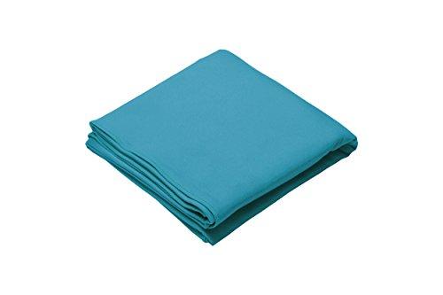 Dream Art extra saugfähiges Mikrofaser-Badetuch, 90 x 180cm, blau