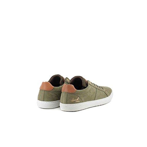BULLBOXER 779-K2-6074A Zapatos De Cordones Hombre Verde, EU 44