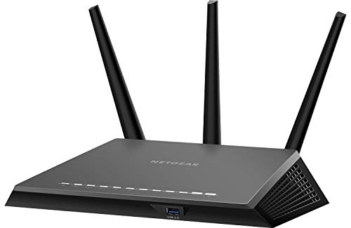 Netgear (R7000P-100NAS) Nighthawk AC2300 Dual Band Smart WiFi Router, Gigabit Ethernet, MU-MIMO, Compatible with Amazon Echo/Alexa and Circle Smart Parental Controls (Renewed) (Nighthawk Smart Wifi Router With Mu Mimo)