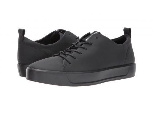 ECCO(エコー) メンズ 男性用 シューズ 靴 スニーカー 運動靴 Soft 8 Tie - Black 2 [並行輸入品] B07C8GRYF2