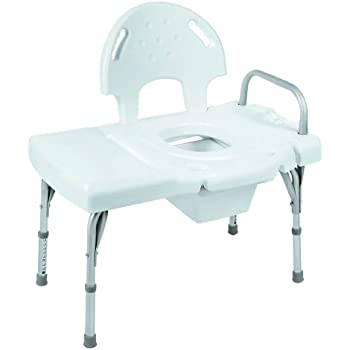 Amazon Com Invacare Transfer Bench With Commode Health