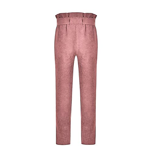 Haute Leggings Slim Rose Taille lgant Mode Taille Pantalons Casual Ceinture S Pantalon Pantalon de Crayon avec 3XL lastique Femme qOw1q