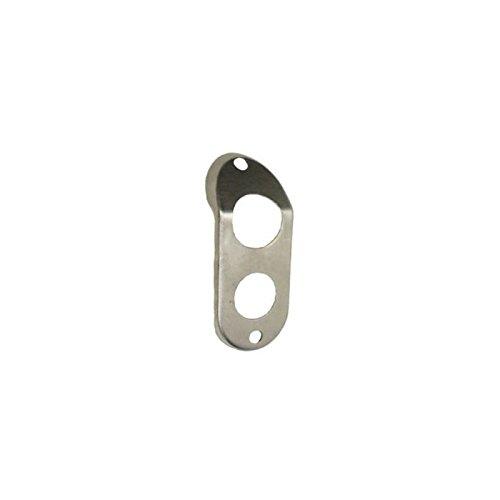 Eckler's Premier Quality Products 33-181593 - Camaro Heater Box Tube Flange Plate, Big -