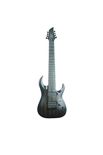ivy IS8-300 TBK Tele Solid-Body Electric Guitar, Trans Black