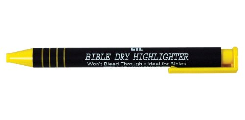 Bible Dry Highlighter - Yellow 12pk