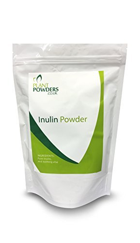 *PURE* Inulin Powder - CHoose 250g/500g or 1KG - Powerful and Natural Prebiotic Fibre (Insoluble) with Fructo-Oligosaccharide (FOS) (500g) by PlantPowders.co.uk