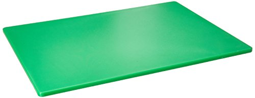 Winco CBGR-1824 Cutting Board, 18-Inch by 24-Inch by 1/2-Inch, Green by Winco