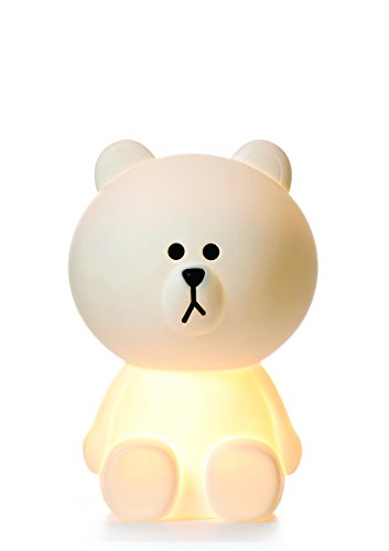 White LED Dimmable Brown Bear Lamp with Dimmer, XL - 20.5