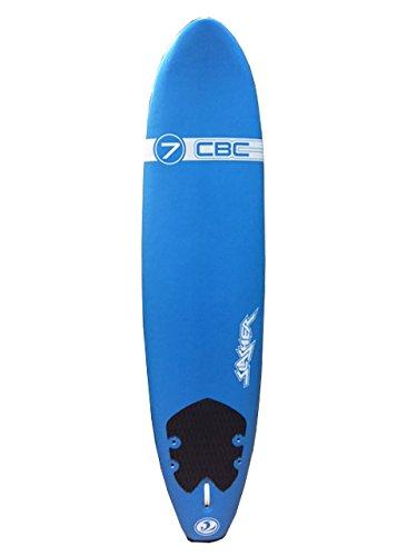 California Board Company CBC Slasher Surf Board, Blue, 7' by California Board Company