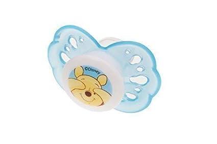 Chupete de sedación de Silicona Disney Winnie Pooh azul ...