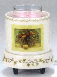 (Tuscany with Fruit Basket Votive Warmer)