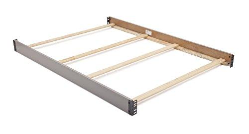 Delta Children Canton Full-Size Wood Bed Rails #0020, Grey