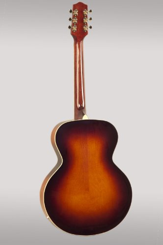 La Loar lh-319-vs Archtop guitarra con P-90 pastillas: Amazon.es ...