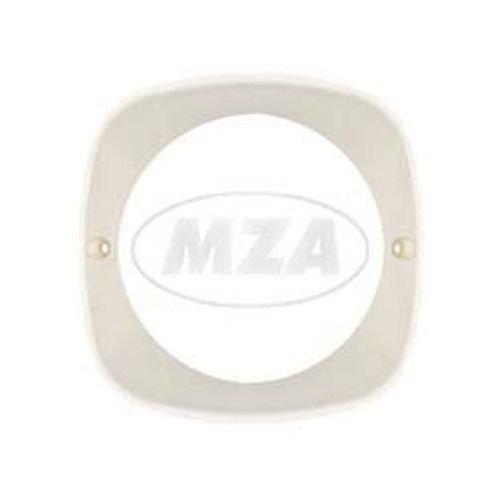 Blendrahmen zum Scheinwerfer - Lampenring - weiß - KR51, SR4-2, SR4-3, SR4-4 MZA