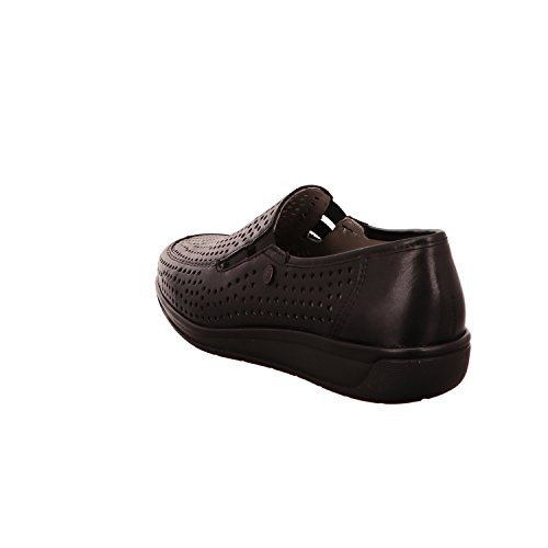 ara Women's 12-36337-01 Loafer Flats Black m3uxP9pG