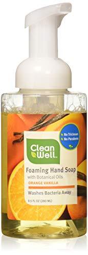 Vanilla Soap Orange - Cleanwell Soap Hand Orange Vanilla, 9.5 Ounce