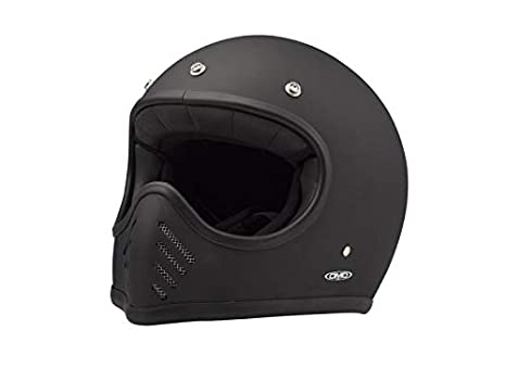 Amazon.es: DMD 1 ffs40000mb03 Casco Moto, Color Negro Mate, M