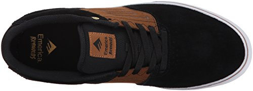 THE VULC Noir Emerica skateboard Chaussures homme de pour Tan REYNOLDS LOW pqqnd6Fg