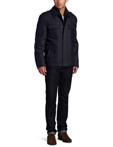 Michael Kors Men's Brentwood Newsboy Coat
