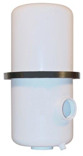 Solberg HDL-PSG860/1-200HC Oil Mist Discharge Filter, 2'' FPT Inlet/Outlet, 17-1/2'' Height, 8-3/4'' Diameter, 175 SCFM by Solberg