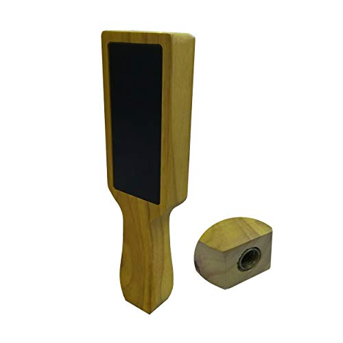 - FixtureDisplays Wooden Beer Tap Handle Kit with Two Small Black Chalkboard 14009-NF Shipping Fee Required