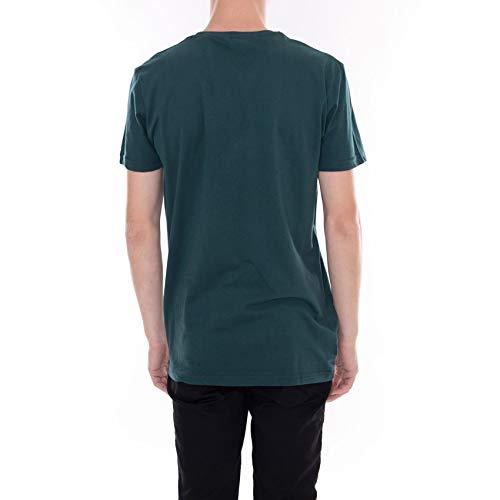 Vert T Courtes Sansone Manches solid À shirt Ponderosa 0BxdqwRw