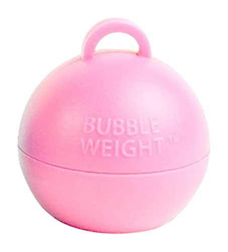 Bubble Weight Balloon Weight, 35 gram, Baby Pink, 10 Piece -