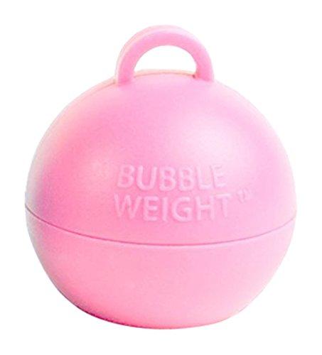Bubble Weight Balloon Weight, 35 gram, Baby Pink, 10 Piece
