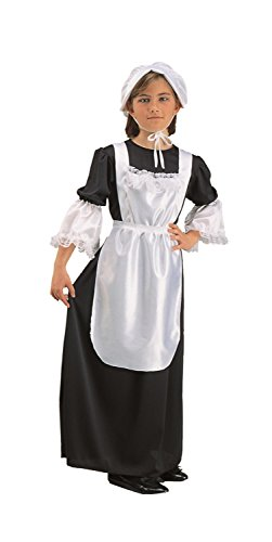 Pilgrim Girl Kids Costume