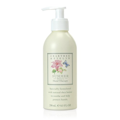 Crabtree & Evelyn Ultra-Moisturising Hand Therapy,Summer Hill,8.8 oz.