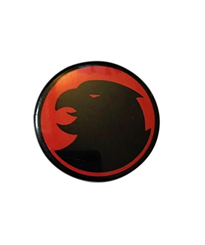 Thundercats Black on Red Vintage Comics Round Button Pin