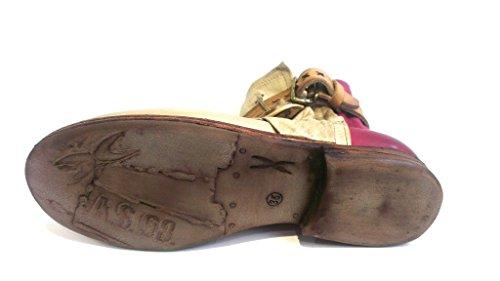 Schnürboot purple Größe 7126 Antikleder natur Sabbia 98 A 1550 s 518211 35 06tw4TcEq